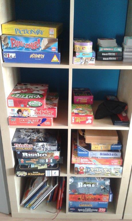Spiele im Jugendtreff