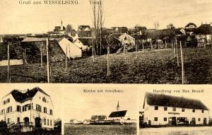 Postkarte von 1900