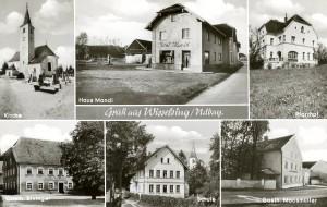 Postkarte von 1961
