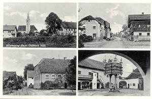 Postkarte Wissesling von 1939