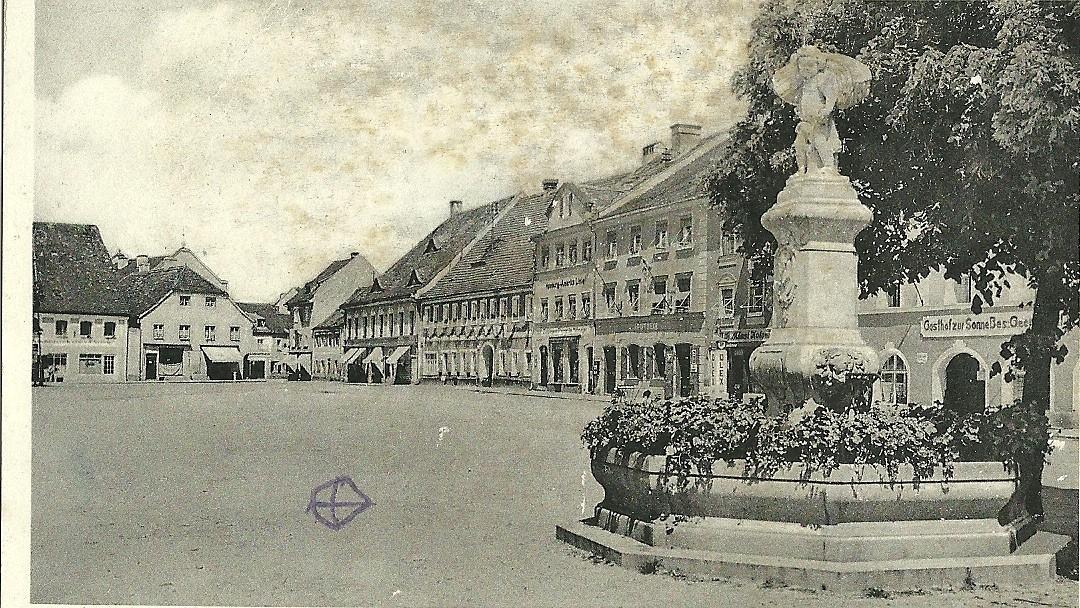 Postkarte Hindenburgplatz 1938