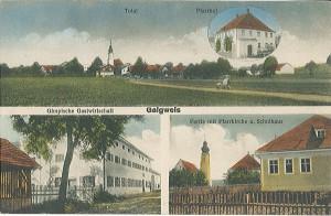Postkarte Galgweis ca. 1920
