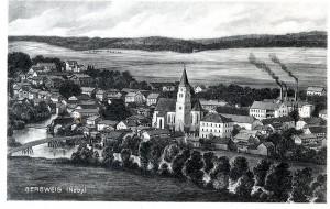 Postkarte Gergweis ca 1910