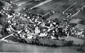 Postkarte Gergweis 1955